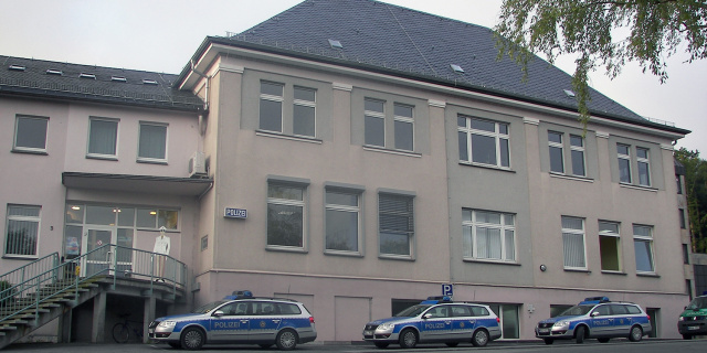 Bild der Polizeiwache in Brilon