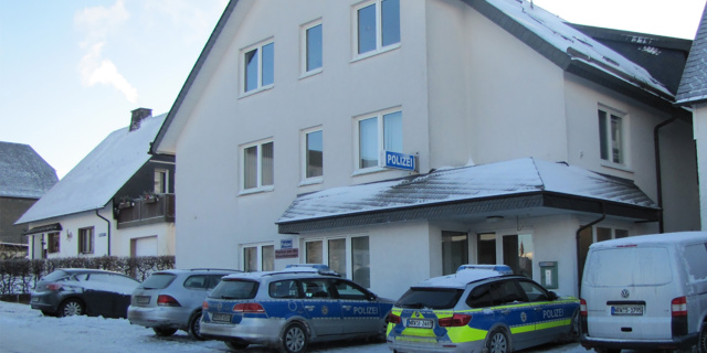 Bild der Polizeiwache in Winterberg